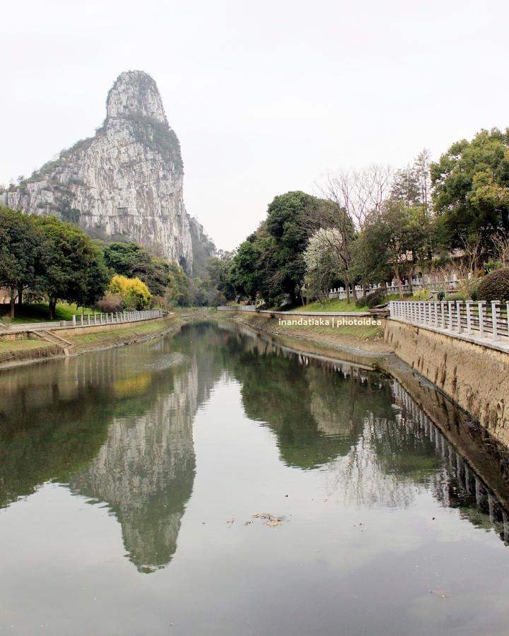 Guilin, kota yang tampak sepertiLukisan